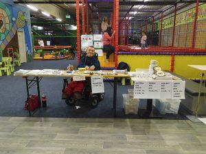 Prodej v dětském centru Toboga