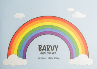 Omalovánka Barvy