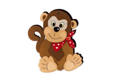 Dřevěný výřez Šimpanz