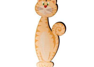 Dřevěný výřez Kočka
