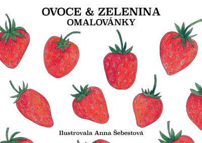 Omalovánka Ovoce & zelenina