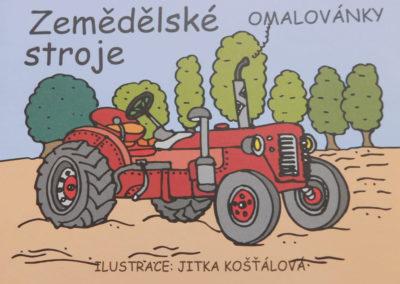 Omalovánka Zemědělské stroje