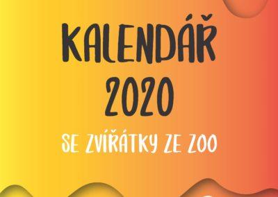 Kalendář 2020 se zvířátky ze ZOO