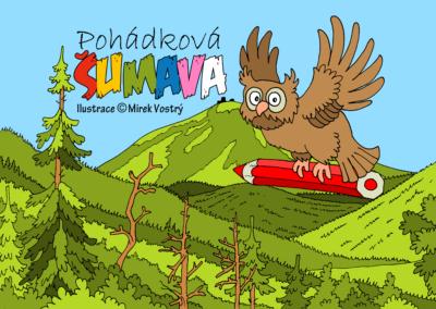 Omalovánka Pohádková Šumava