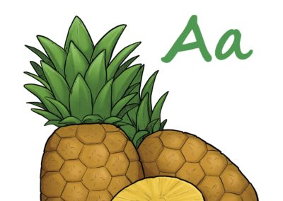 Omalovánky Abeceda, A–H