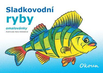 Omalovánky Sladkovodní ryby
